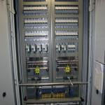 Kablage industriële elektrische kast