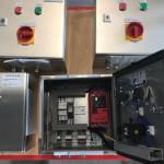 Elektrische kastjes voor transportbanen
